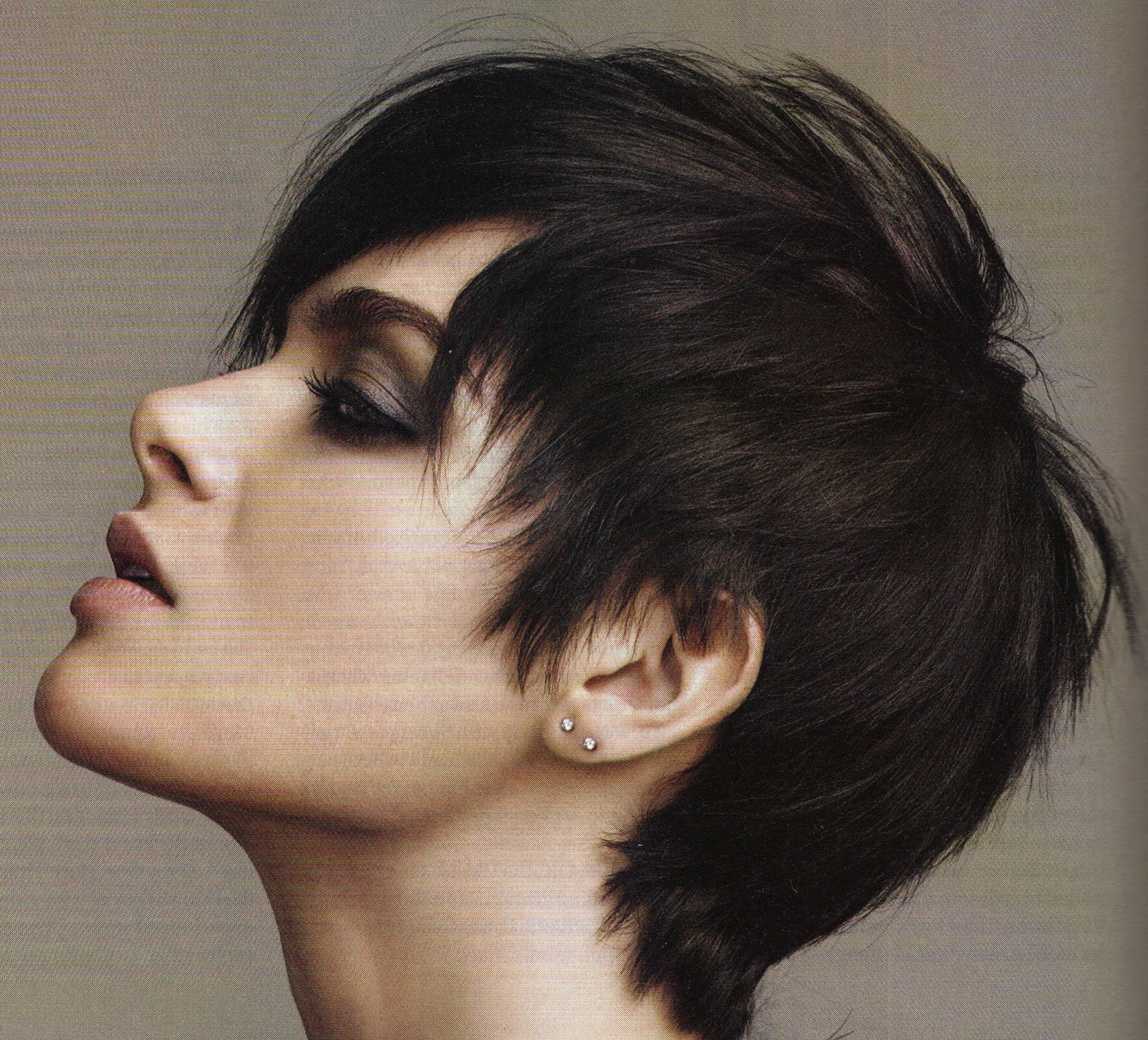 This is the cutest hair cut I've seen in a long time: